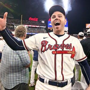 Freddie Freeman Atlanta Braves MLB NLCS