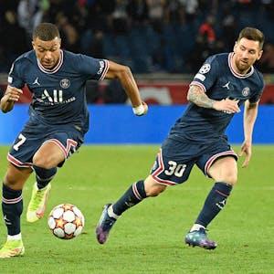 Lionel Messi PSG Champions League