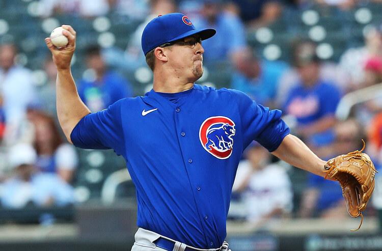Alec Mills MLB Chicago Cubs