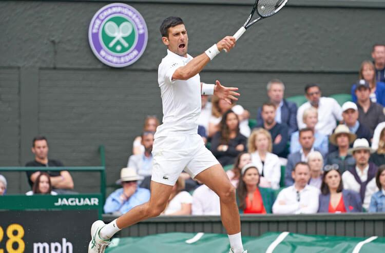 Novak Djokovic ATP Wimbledon Men's Tennis