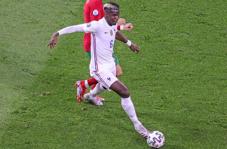 Paul Pogba France national team soccer Euro