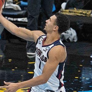 Gonzaga Bulldogs Jalen Suggs NCAA