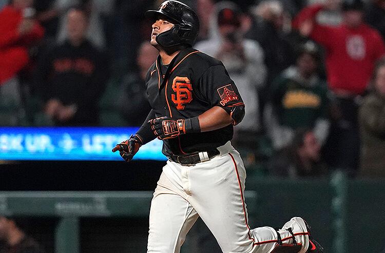 Donovan Solano San Francisco Giants MLB