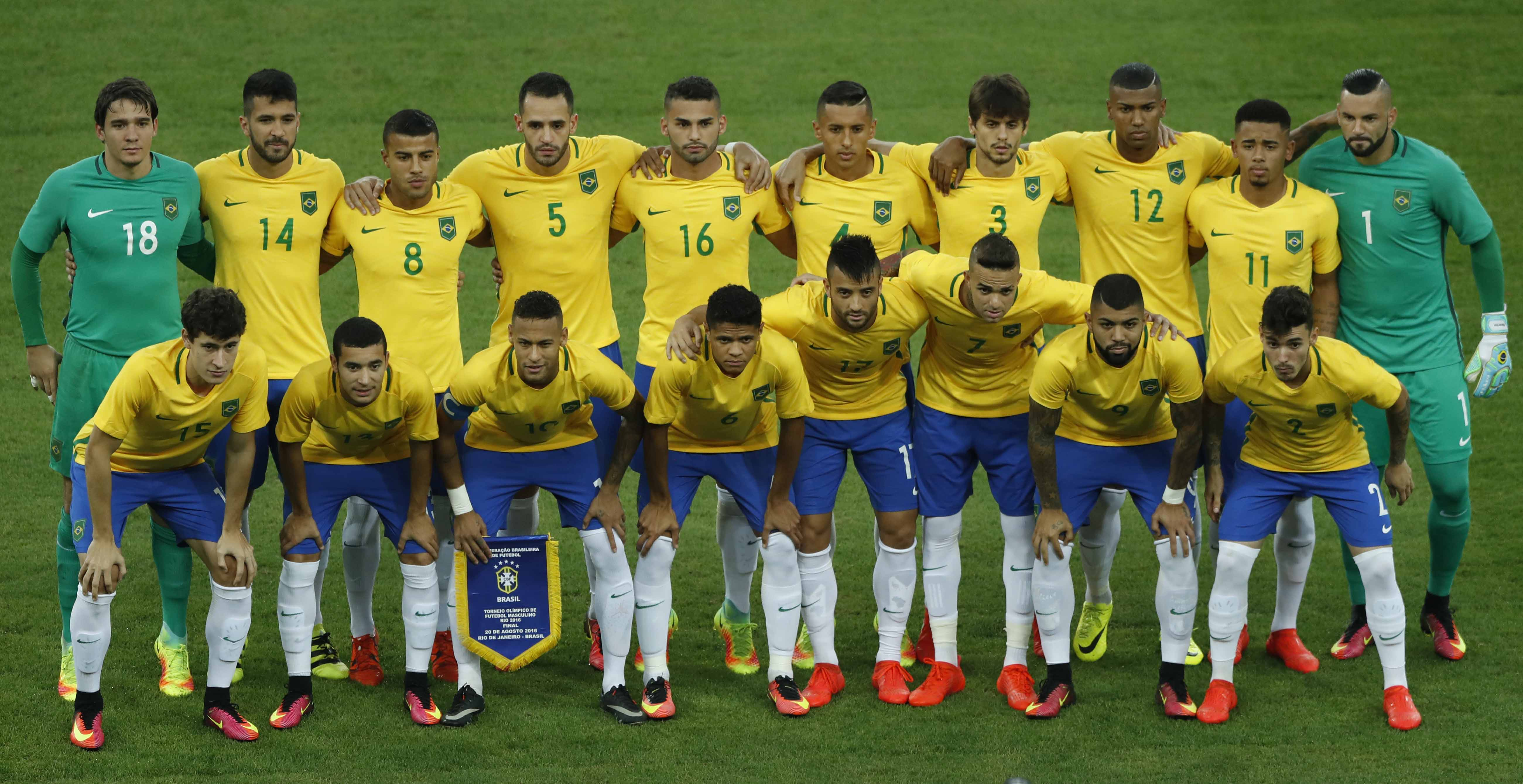 Men's soccer Gold Medal Match between Brazil and Germany during the Rio 2016 Olympic Games at the Maracana in Rio de Janeiro, Brazil, 20 August 2016. - Sipa USA