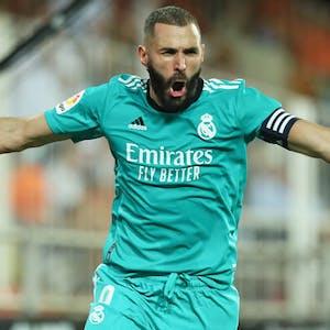 Karim Benzema La Liga Real Madrid