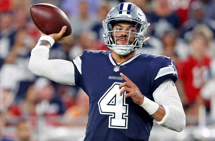 NFL Player Prop Bets for Week 2: Cowboys On the Offensive