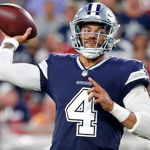 Dak Prescott Dallas Cowboys NFL props