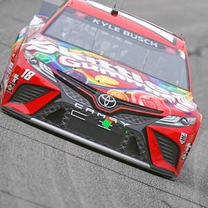 Kyle Busch Bass Pro Shops Night Race NASCAR