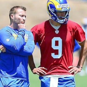 Matt Stafford Sean McVay Los Angeles Rams NFL