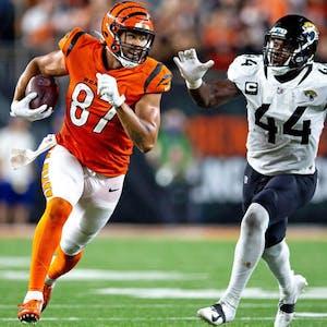 C.J. Uzomah Cincinnati Bengals NFL