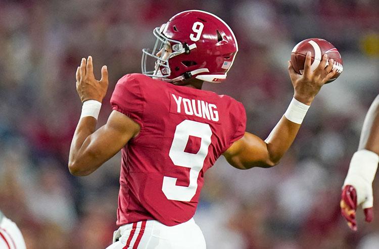 Bryce Young Alabama Crimson Tide college football