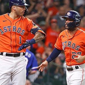 Carlos Correa Jose Altuve Houston Astros MLB