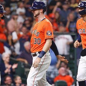 Yuli Gurriel Kyle Tucker Carlos Correa Houston Astros MLB