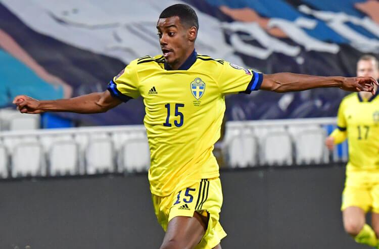 Alexander Isak Sweden national team soccer Euros