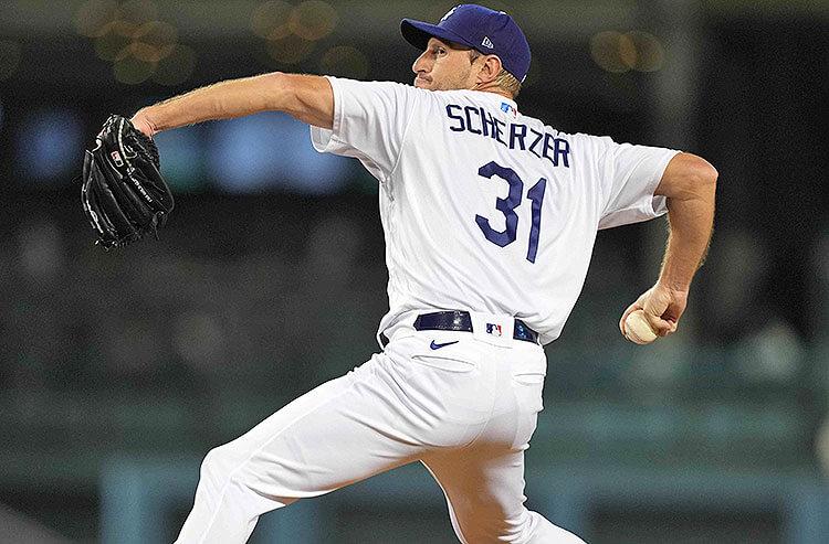 Max Scherzer Los Angeles Dodgers MLB