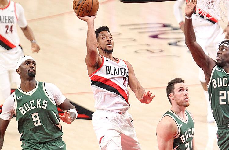 CJ McCollum Portland Trail Blazers NBA