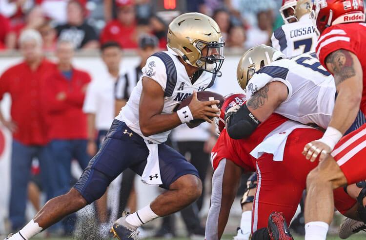 Xavier Arline Navy Midshipmen college football