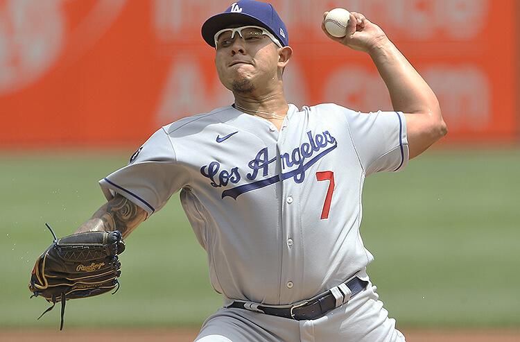 Julio Urias Los Angeles Dodgers MLB
