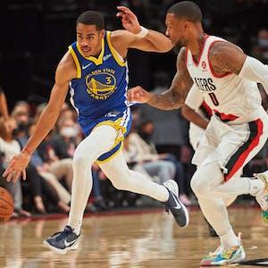 Jordan Poole Golden State Warriors NBA