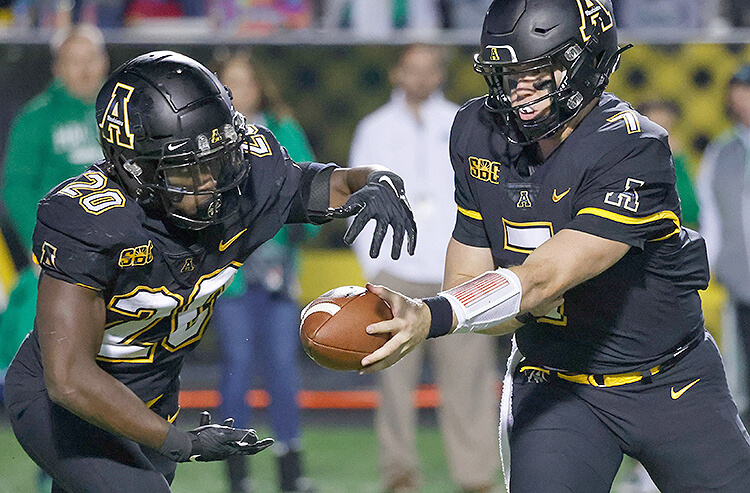Chase Brice Appalachian State Mountaineers college football