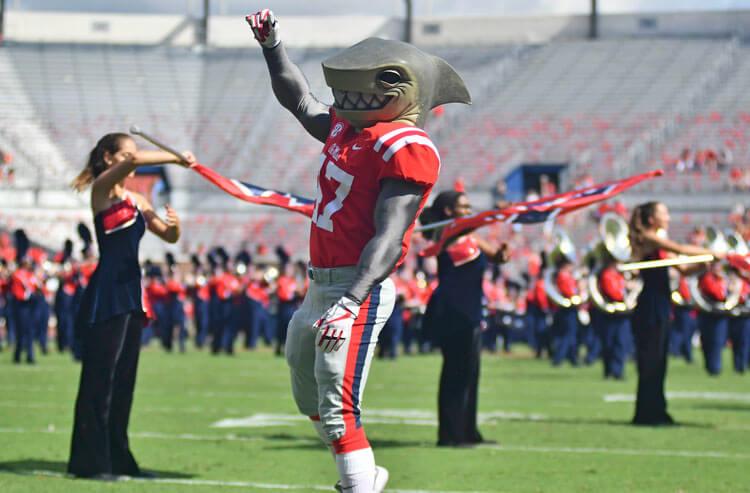 Tony the Landshark Ole Miss college football