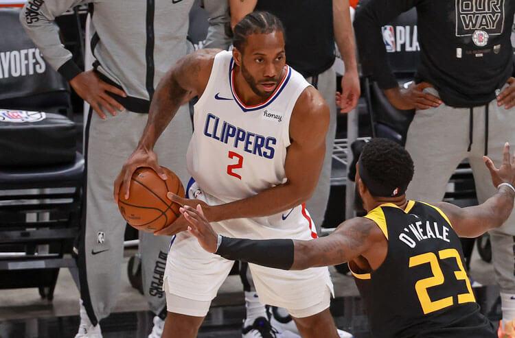 Kawhi Leonard Los Angeles Clippers NBA
