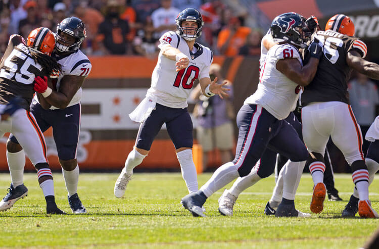 NFL Week 3 Odds:  Texans Major Underdogs at Home on Thursday Night Football