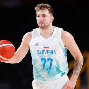 Luka Doncic Slovenia national basketball team Olympics