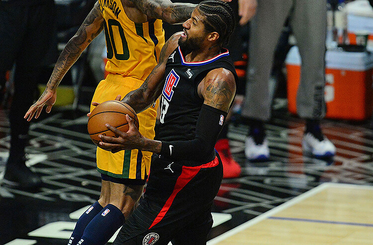 Paul George Los Angeles Clippers NBA