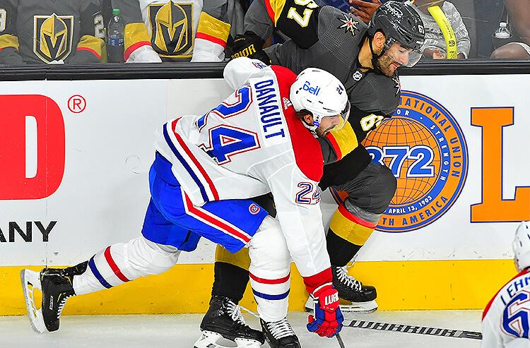 Phillip Danault Montreal Canadiens Max Pacioretty Vegas Golden Knights NHL