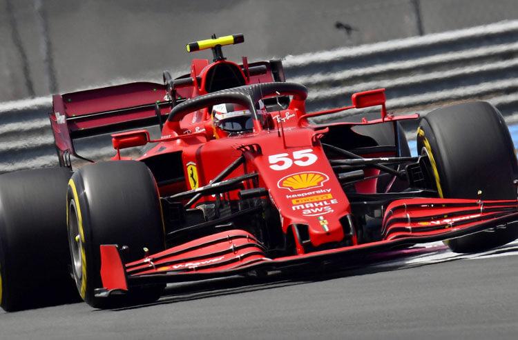 Carlos Sainz Jr. Ferrari Formula 1