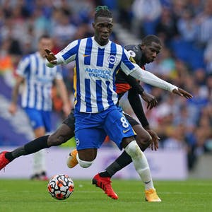 Yves Bissouma Brighton and Hove Albion EPL