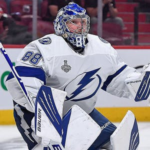 Andrei Vasilevskiy Tampa Bay Lightning NHL Conn Smythe Trophy
