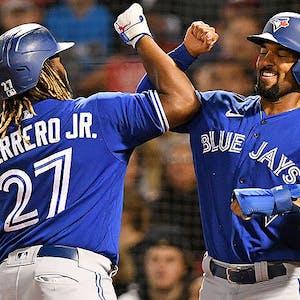 Vladimir Guerrero Jr. Marcus Semien Toronto Blue Jays MLB