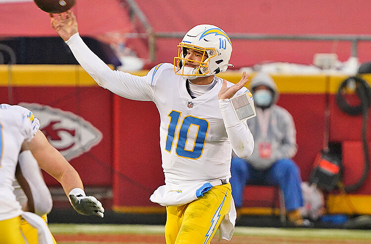 Los Angeles Chargers 2021 NFL Betting Preview: Growing Pains