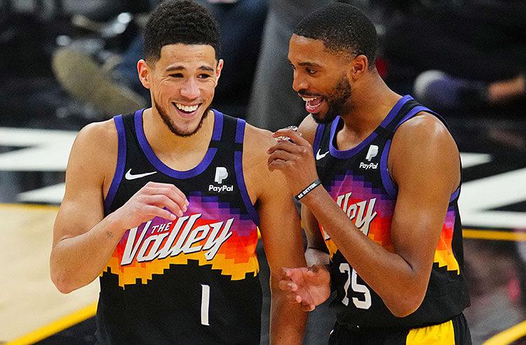 Devin Booker Mikal Bridges Phoenix Suns NBA