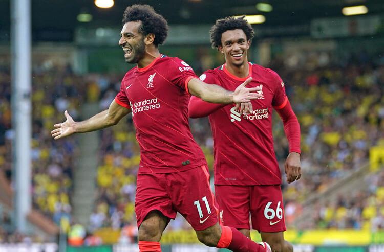 Mohamed Salah Liverpool FC English Premier League