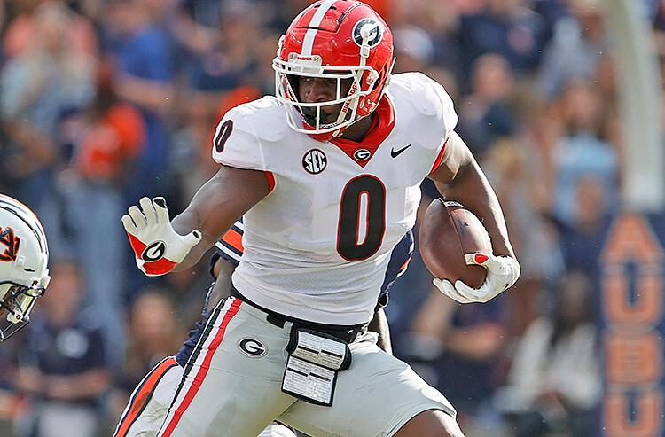 Darnell Washington Georgia Bulldogs college football