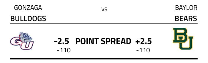 NCAA Point Spread Example
