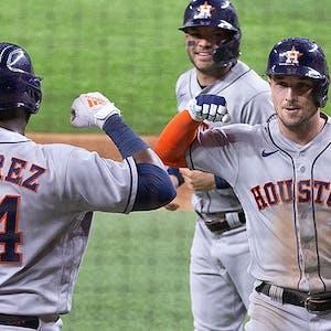 Yordan Alvarez Alex Bregman Houston Astros MLB