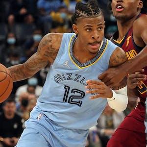 Ja Morant Memphis Grizzlies NBA props