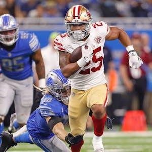 Elijah Mitchell San Francisco 49ers NFL