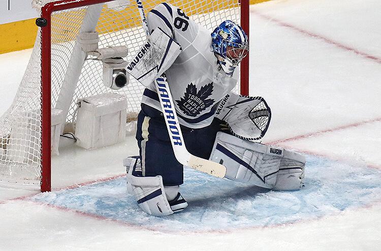 Jack Campbell Toronto Maple Leafs NHL