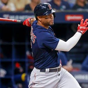 Xander Bogaerts Boston Red Sox MLB ALCS