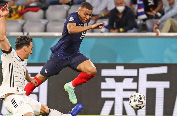 Kylian Mbappe France national team soccer Euros