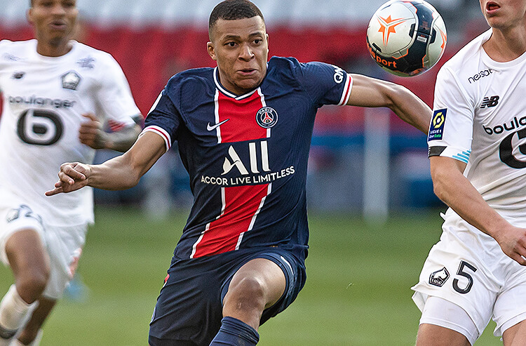 Kylian Mbappe Paris Saint-Germain Champions League