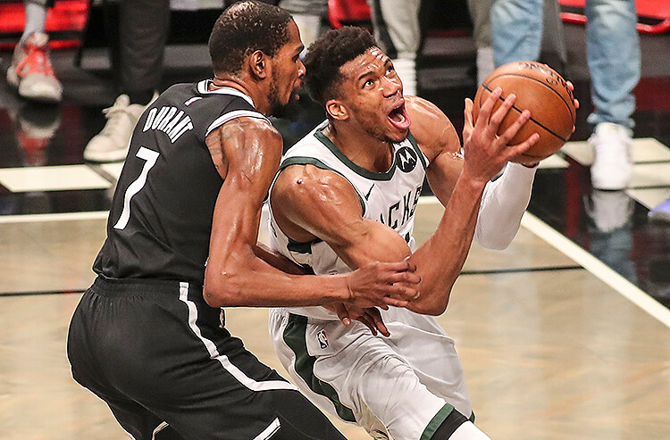 2021 NBA Finals MVP Odds: Giannis Replaces Ousted KD As Betting Favorite