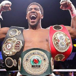 Boxer Anthony Joshua