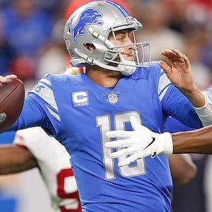 Jared Goff Detroit Lions NFL props