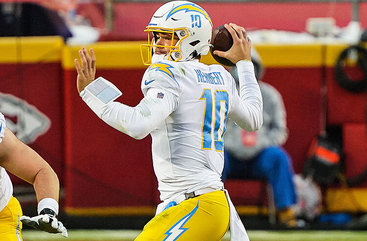 Justin Herbert Los Angeles Chargers NFL